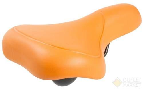 Седло M-WAVE EVA CITY комфорт 262х156 мм оранжевое