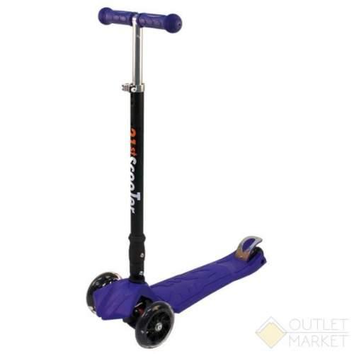 Самокат COD-X 3 колеса детский фиолетовый