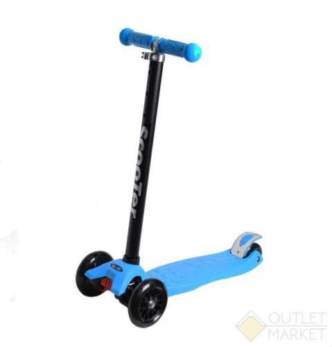 Самокат COD-X 3 колеса детский голубой