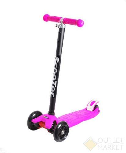 Самокат COD-X 3 колеса детский розовый