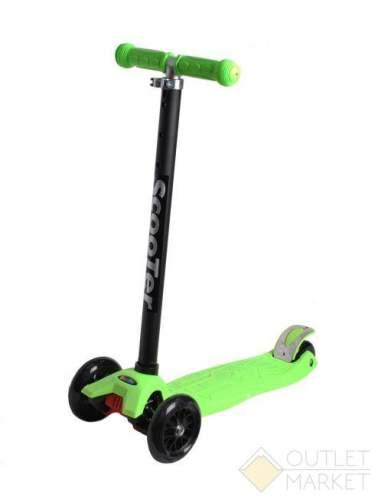 Самокат COD-X 3 колеса детский зеленый