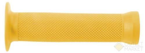 Грипсы С83 на руль 3-365 резин. BMX 135мм торц. защита+защита от проскальз. ЖЕЛТЫЕ CLARK S