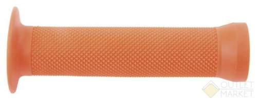 Грипсы С83 на руль 3-362 резин. BMX 135мм торц. защита+защита от проскальз. ОРАНЖЕВЫЕ CLARK S