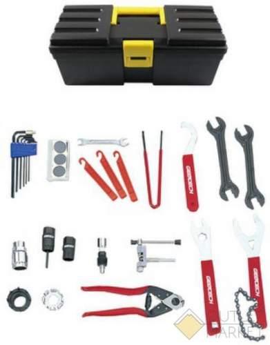 Набор инструментов GHT-055 универсальный 18 поз. профи в кейсе/ящике TECH NEW