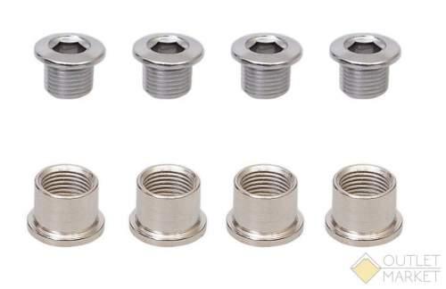 Бонки 6-190613 для передних систем 5шт. в комплекте M8x8.5x6.5мм сталь серебр. SS-LA01