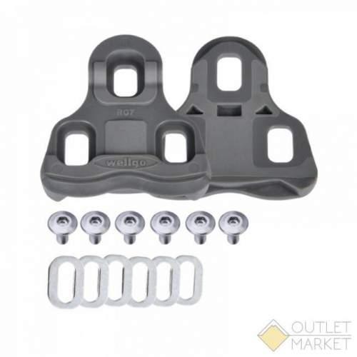 Шипы для педалей WELLGO RC-7B для ROAD контактных педалей R096B с крепежом сбободный ход 6