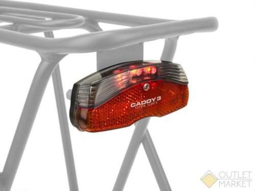 Фонарь задний AUTHOR A-Caddy 3 на багажник 3 диода/1ф. красный 180 - видимость