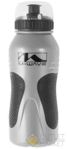 Фляга для велосипеда M-WAVE с крышкой антискользящий