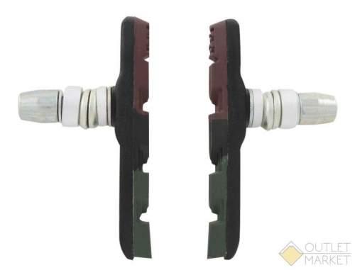 Тормозные колодки PROMAX ассиметричные 70 мм 3 профиля