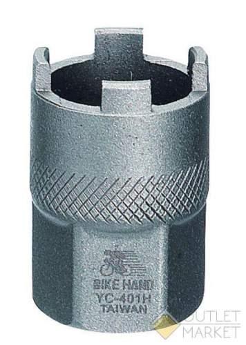 Съемник трещотки BIKEHAND YC-401H под 4-е шлица сталь