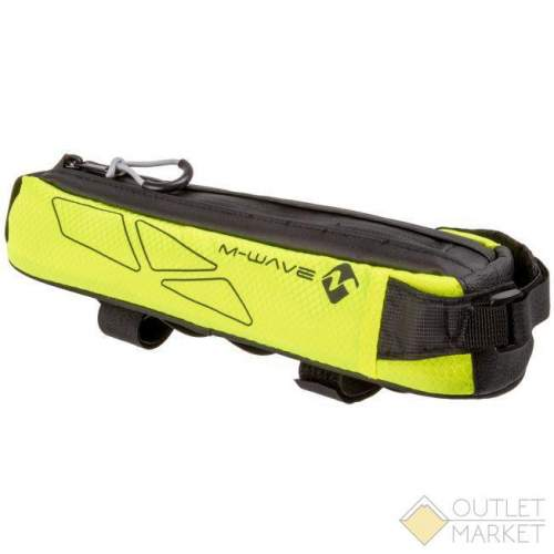 Сумочка-чехол M-WAVE на раму 7х8,5х29 см влагозащитная с подкладкой