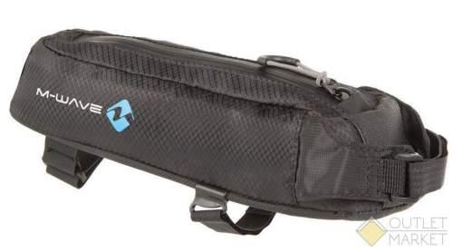 Сумочка-чехол M-WAVE на раму 7х8,5х29см влагозащитная с амортизированной подкладкой