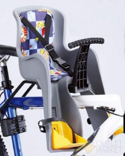Детское кресло USPORTS GH-908E на подседельный штырь до 15 кг серое