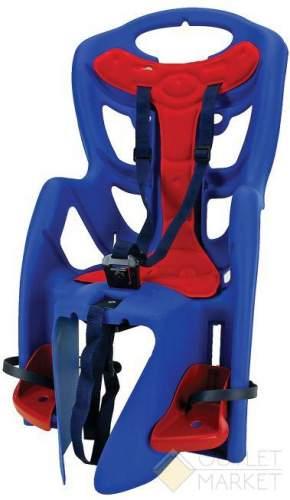 Детское кресло BELLELLI TUV на багажник до 22 кг синее