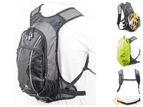 Рюкзак спортивный AUTHOR CYCLONE GSB V=9л + жёлтый чехол от дождя