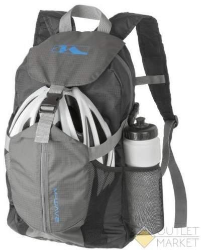 Рюкзак M-WAVE универсальный 45х30х15 см отделение для шлема V=20 л складной 16х11х8 см облегченный 287г