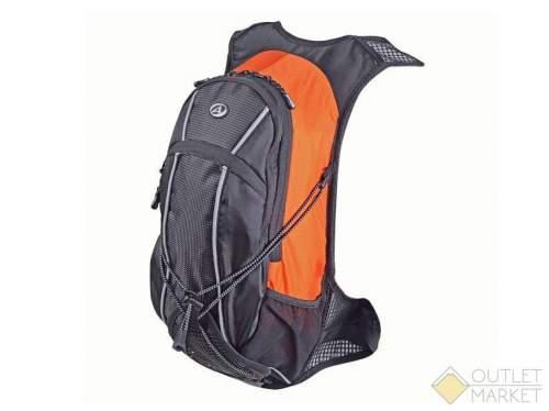 Рюкзак AUTHOR спортивный CYCLONE GSB V=9л + жёлтый чехол от дождя