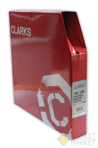 Оплётка тормозного троса MARK19 Y1005DB 3-244 MTB/Road 5мм красная б/загл. (30м) СLARK S