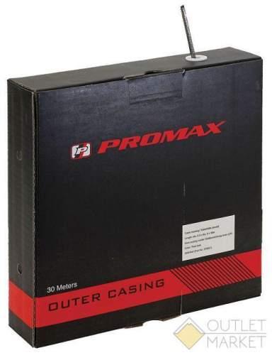 Оплётка троса переключения PROMAX 1,6-2,0мм с тефл. 2,7/5мм б/загл. (30м) черн.(8)