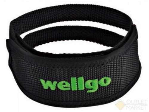 Ремень WELLGO W-8 для педалей двойной на липучке