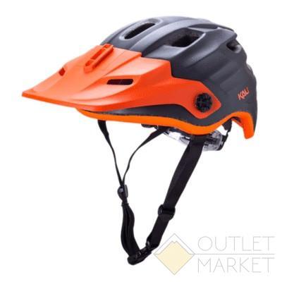 Шлем KALI ENDURO/MTB MAYA матовый серый LDL CF+