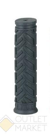 Грипсы H47 резиновые 120мм черные