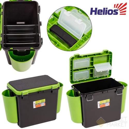 Ящик зимний Тонар Helios 19 л зеленый односекционный