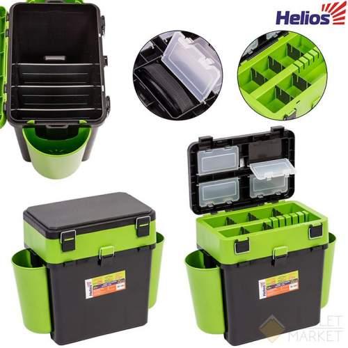 Ящик зимний Тонар Helios 19 л зеленый