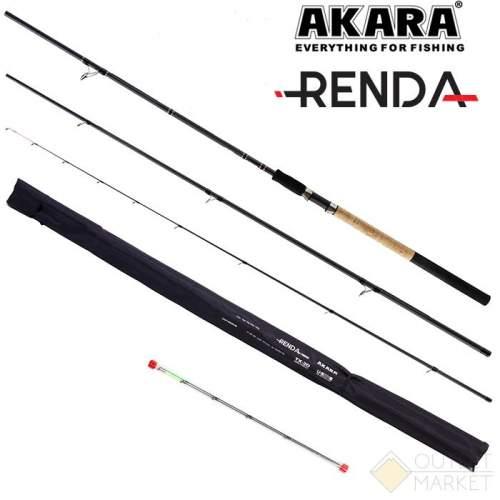 Удилище штекерное угольное фидерное 3 колена Akara Renda Feeder TX-20 Арт: ARF-390