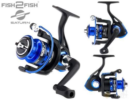 Катушка безынерционная Fish2Fish Saturn A металлическая шпуля Арт: F2FS4000A-6