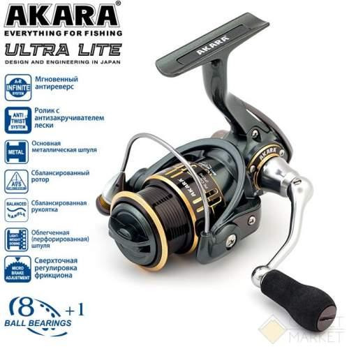 Катушка безынерционная Akara Ultra Lite Арт: AUL2000-9