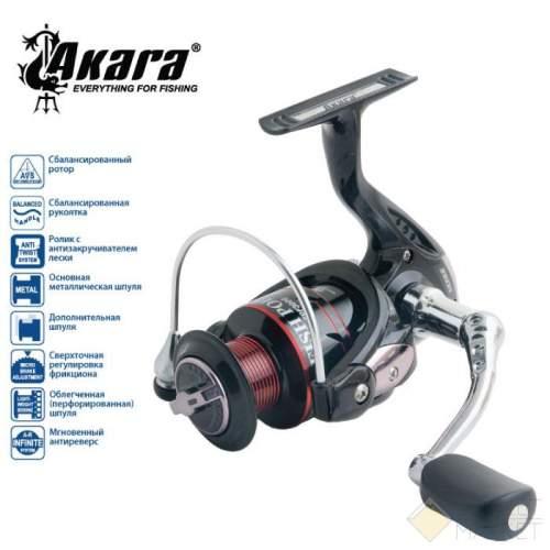 Катушка безынерционная Akara Fish Point FPF Арт: FPF1000-5