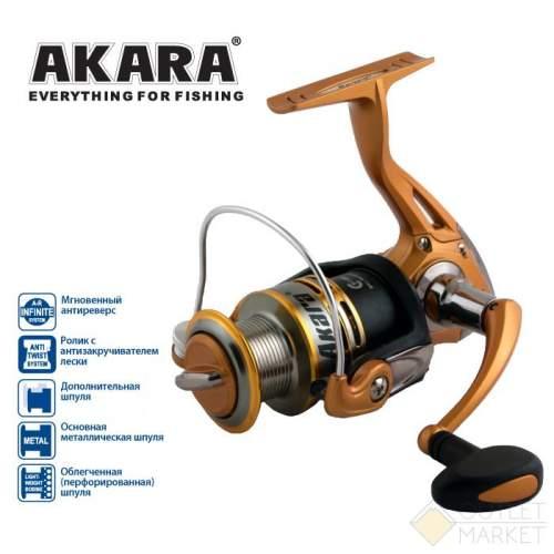Катушка безынерционная Akara Demetra FD Арт: AKFD3000-4
