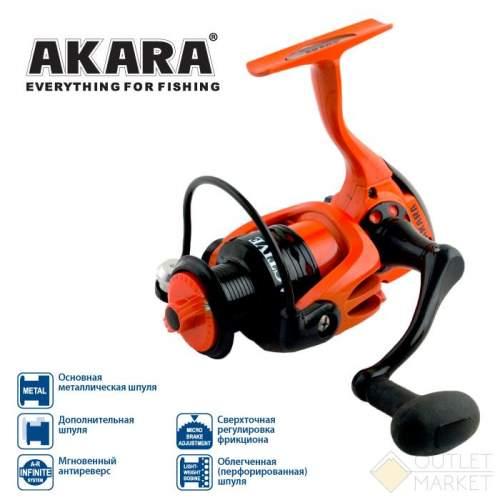 Катушка безынерционная Akara Active AF Арт: AF1000-5
