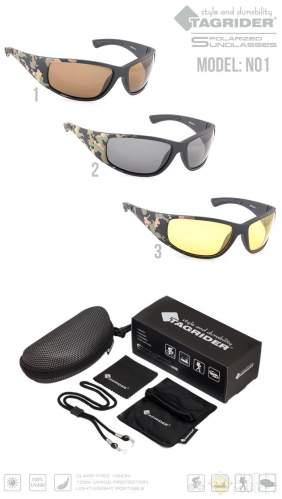Очки поляризационные Tagrider N01-3 Yellow