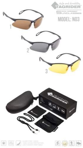 Очки поляризационные Tagrider N03-3 Yellow