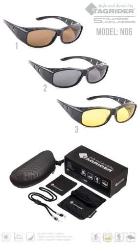 Очки поляризационные Tagrider N06-2 Gray