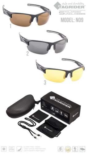 Очки поляризационные Tagrider N09-2 Gray