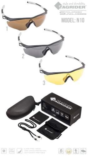 Очки поляризационные Tagrider N10-2 Gray