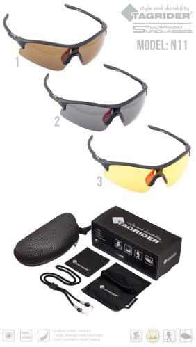Очки поляризационные Tagrider N11-2 Gray