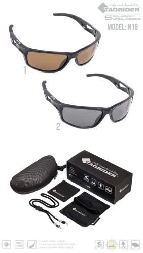 Очки поляризационные Tagrider N18-2 Gray