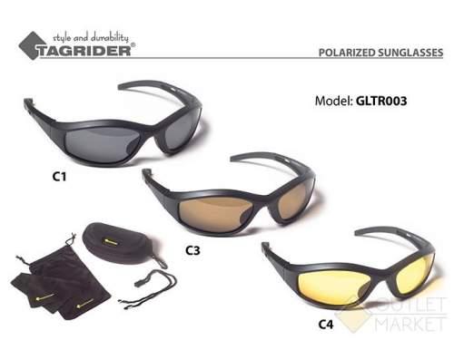 Очки поляризационные Tagrider в чехле GLTR 003 C4 YL