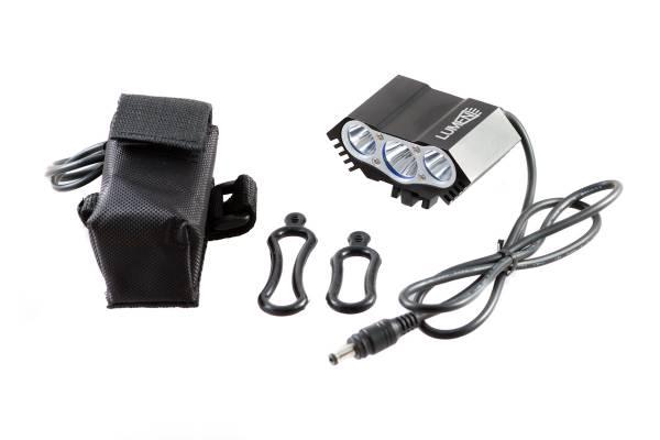 Фонарь передний Lumen 303-X 3600 lumens 3 Cree XML-T6 черный