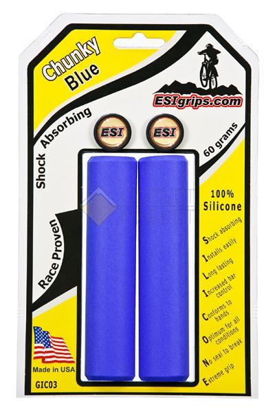 Грипсы ESI Chunky Blue GIC03