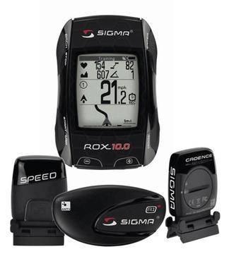 Велокомпьютер SIGMA ROX 10.0 GPS BLACK SET