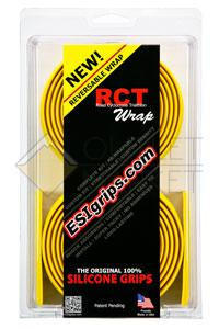 Обмотка на руль ESI RCT Wrap Silicon желтая RWYLW