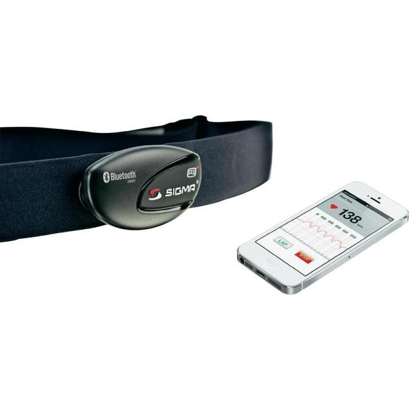 Кардиоремень Sigma R1 Blue Comfortex 20328