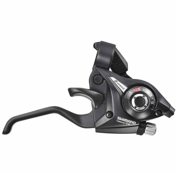 Моноблок Shimano Tourney EF51 правый 9 скоростей трос 2050 мм чёрный