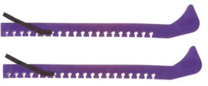 Чехлы на лезвие коньков (универсальные) ЧХ-01 Фиолетовый