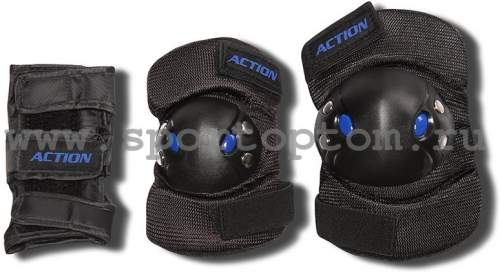 Защита роликовая тройная Чулок ACTION 305-PW M